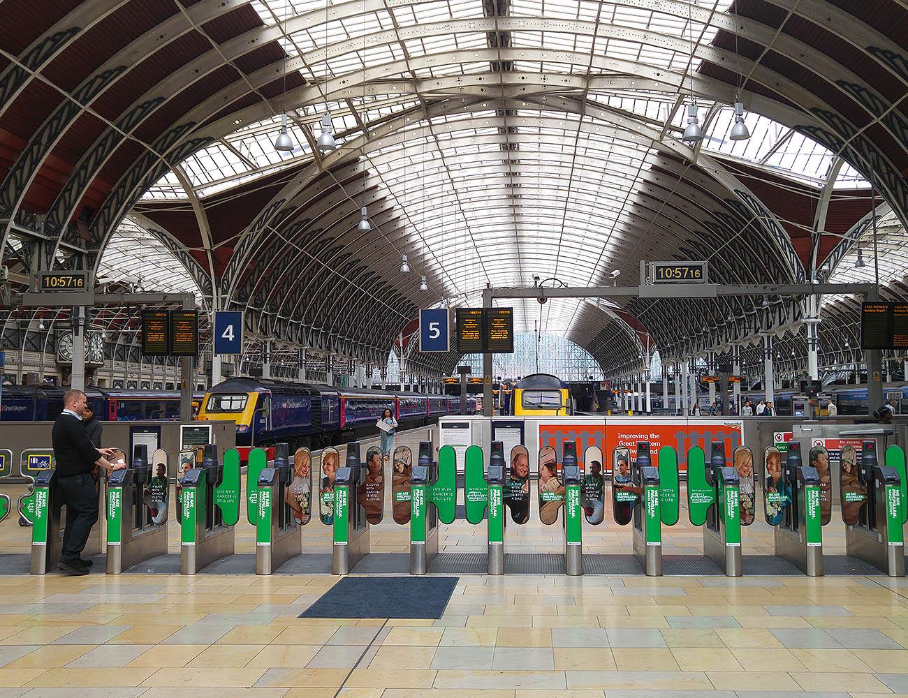 London Paddington Station - Atec EN